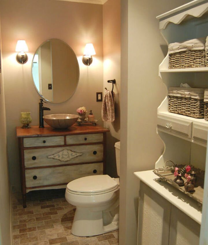 a long narrow bathroom can be a little tricky.