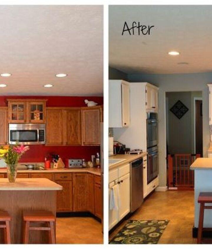 updated kitchen makeover, home decor, kitchen design