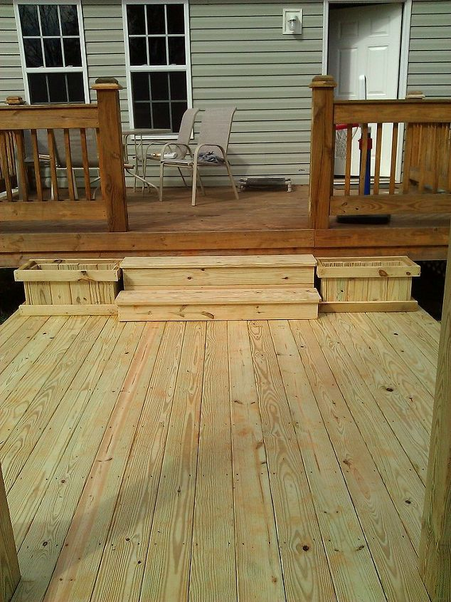 beautiful deck and roundboy oven installation, decks, outdoor living, woodworking projects, Great space for entertaining