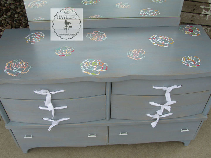 from retro to simply darling mid century dresser update, painted furniture