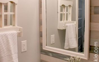 Upcycle an Old Vintage Dresser Mirror for Your Wall!