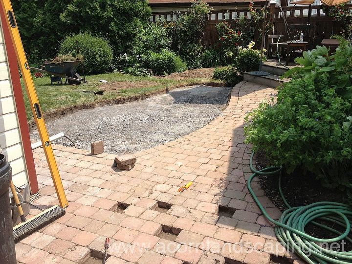 When adding on, Renovating  or Redesigning existing Patios, we replace some of the older pavers with new ones. The older Pavers are later blended in with the new Pavers so it looks like we installed the entire Patio.