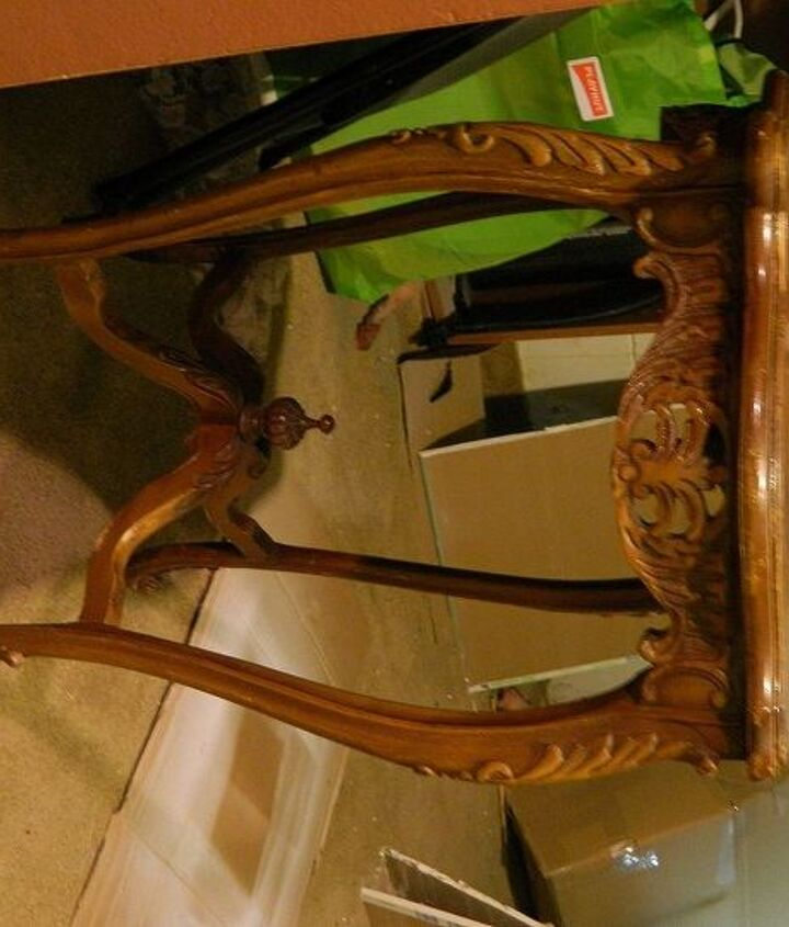 q advice on refinished inlaid wood tables, painted furniture