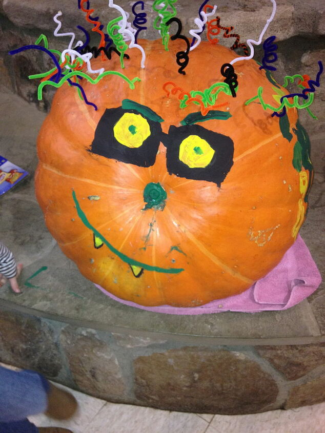 Look at this awesome pumpkin