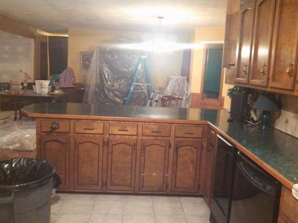 kitchen before and after, home improvement, kitchen design