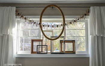 Make a Rustic Grapevine / Pinecone Christmas Garland... for Free!
