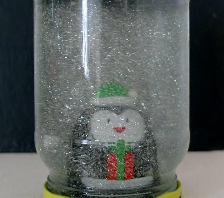 diy glitter globe, crafts, repurposing upcycling, seasonal holiday decor
