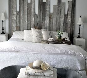Reclaimed Wooden Headboard, Home Decor, Woodworking Projects, A Vintage  Cowboy Tub At The