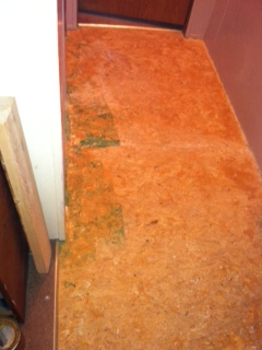 Particle Board Floor Turned Into A Stone Granite Concrete Masonry Diy Renovations Projects