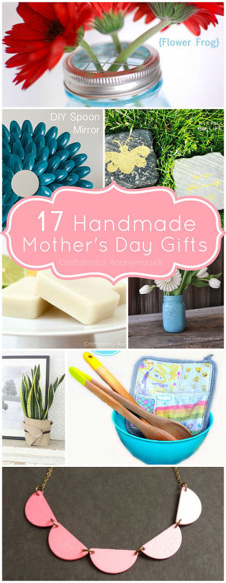 17 handmade gift ideas for mom, crafts
