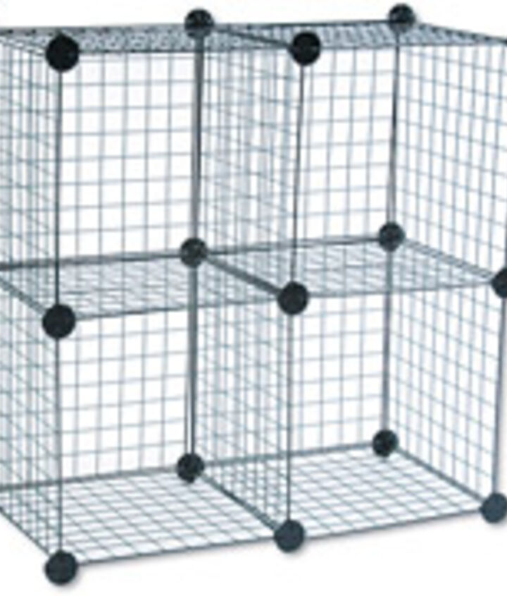 q what can i use square rubber covered wired with 1 inch squares throughtout the, repurposing upcycling, storage ideas