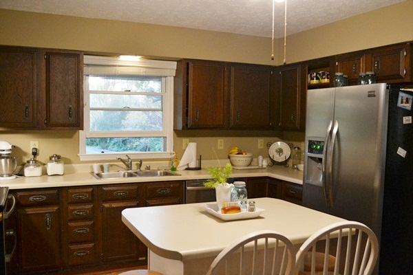 kitchen makeover, home decor, kitchen design, Before picture of our 1970 s kitchen