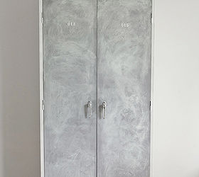 Vintage Inspiration, Doors, Home Decor, Kitchen Cabinets, Organizing,  Painted Furniture,. Lavender Vintage Locker Inspired Cabinet