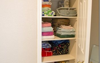 Easy Steps to Simplify Your Linen Closet & Make Contents Accessible