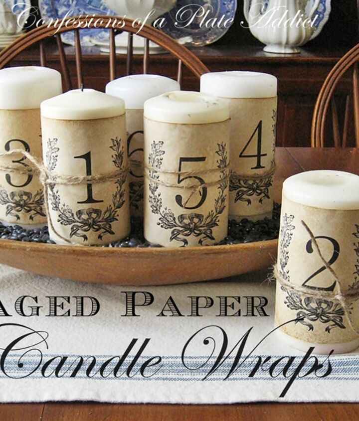 An easy and inexpensive project for your old pillar candles!