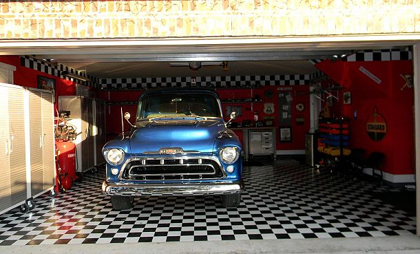 garage, entertainment rec rooms, garages, home decor, Garage with Beverly our 57 inside