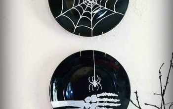 Paint a spiderweb (even if you think you can't paint!) #Halloween