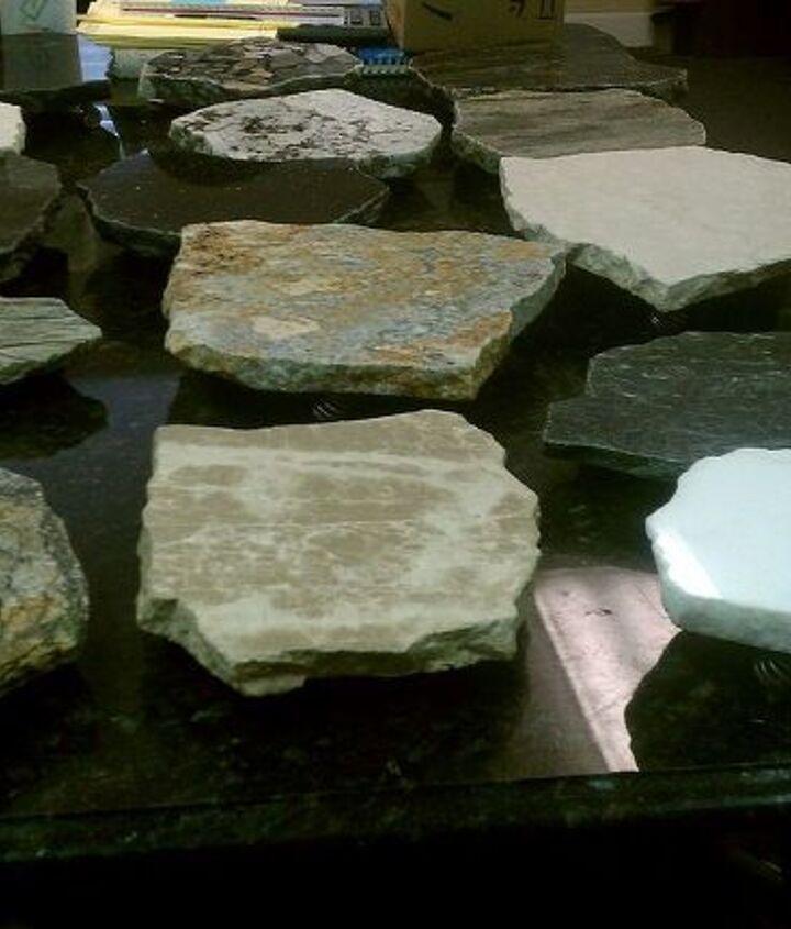 granite trivets, home decor