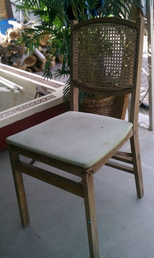 old chairs, painted furniture