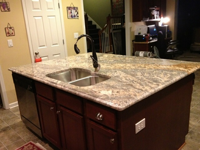 q we ll do a different color on the perimeter click here, countertops