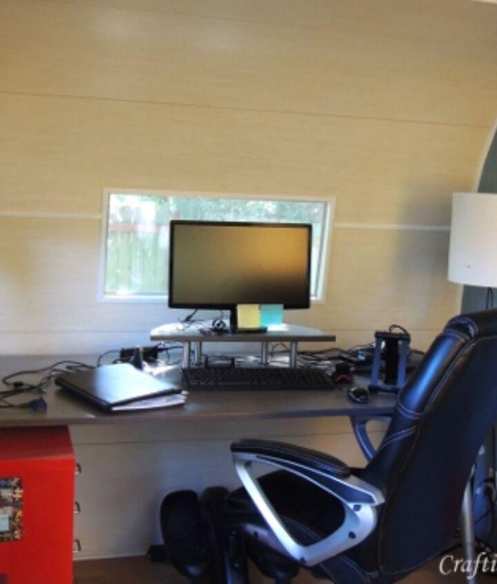 Inside Camper Office Space