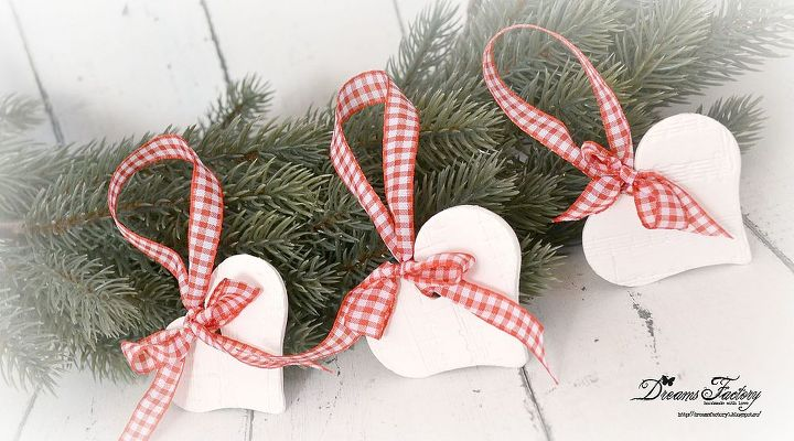 music script heart ornaments, crafts, seasonal holiday decor