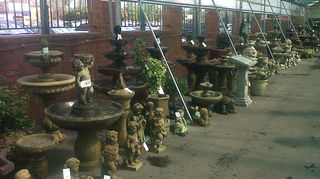 anybody have any ideas where to find cast stone outdoor fountains in ga or sc, outdoor living, ponds water features, Fountains for sale at Pike Nursery at Toco Hills
