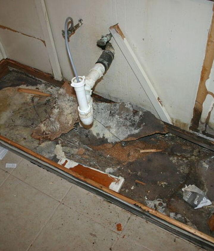 surprise under sink cabinet