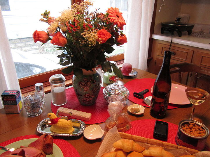 My redecorated kitchen!  Easter Sunday 2012!