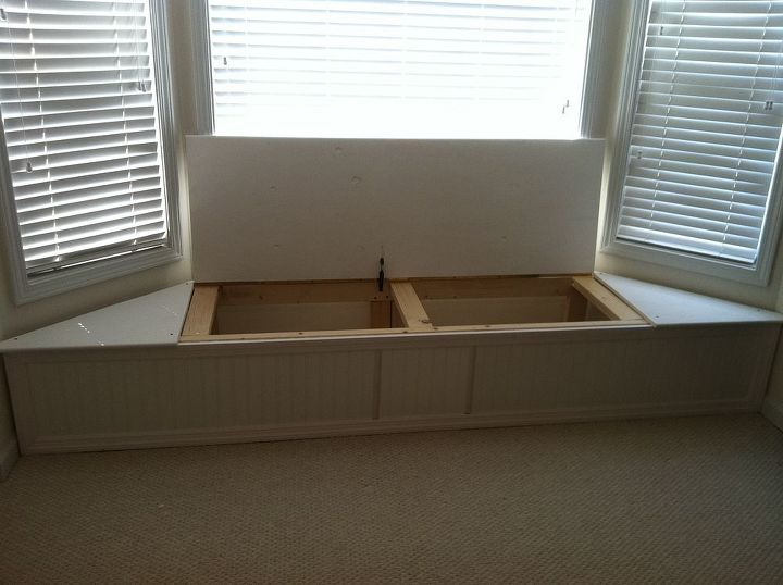 Bay Window Flip Top Storage Bench Hometalk