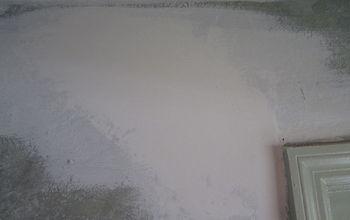 How to repair settling cracks in the drywall.