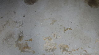 q paint solid epoxy paint to new garage floor construction, concrete masonry, flooring, garages, painting, Improper acid etching and cleaning are one of many ways an epoxy garage floor can fail