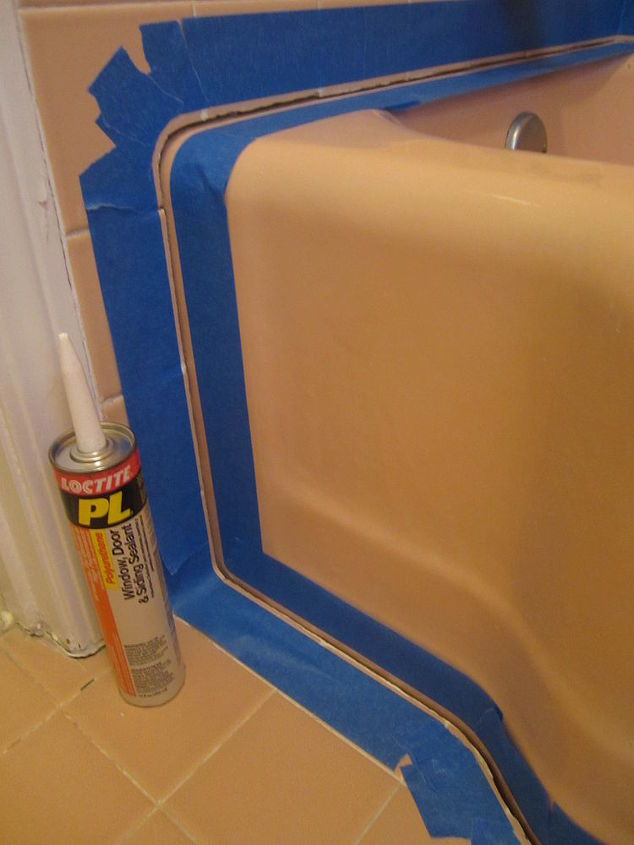 what to do about that leaky shower and tub caulking once and for all best charles, home maintenance repairs, how to, Polyurethane caulk works best This PL brand is available at The Depot