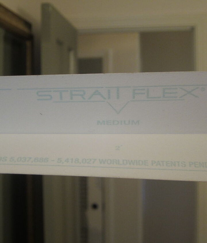 'Straitflex' tape is available at good paint stores.  It feels like made from a plastic.