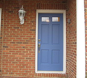 front door color pretty in blue curb appeal doors painting Wish I & Front door color Pretty in Blue | Hometalk
