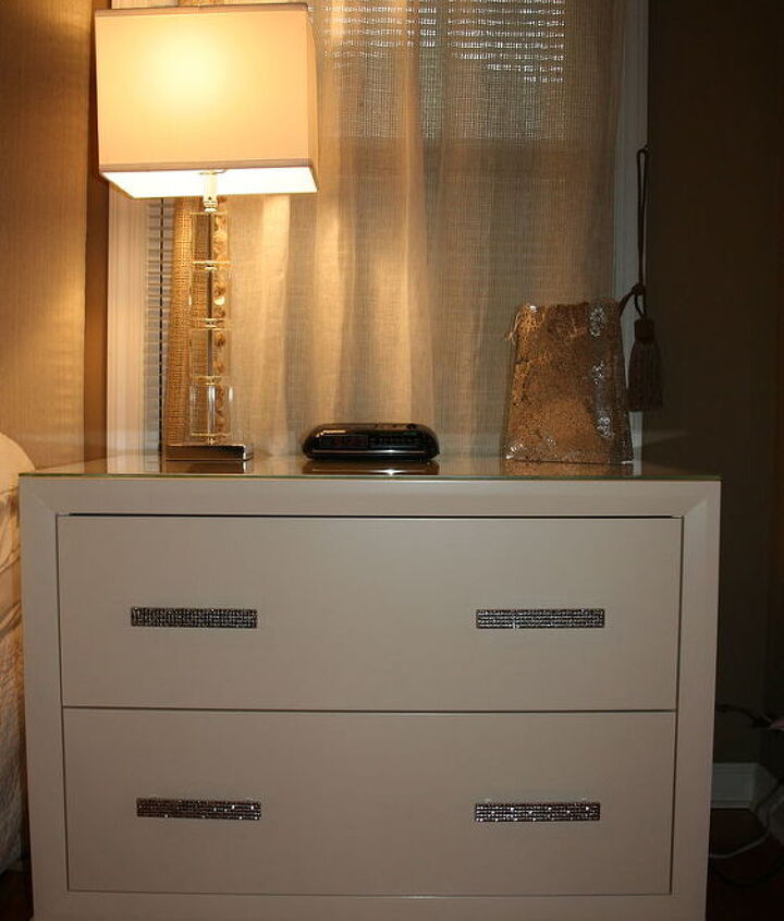 Custom Nightstand (also had long dresser made, pics to come later)