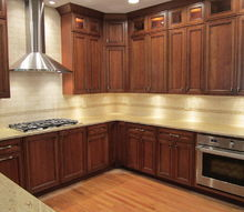 here is another great kitchen in the final stages this is a diamond cherry cabinet, home decor, kitchen backsplash, kitchen design, The after What a difference