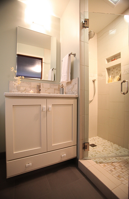 this is a wonderful example of taking a 1960 s original master bathroom in dire need, bathroom ideas, home improvement