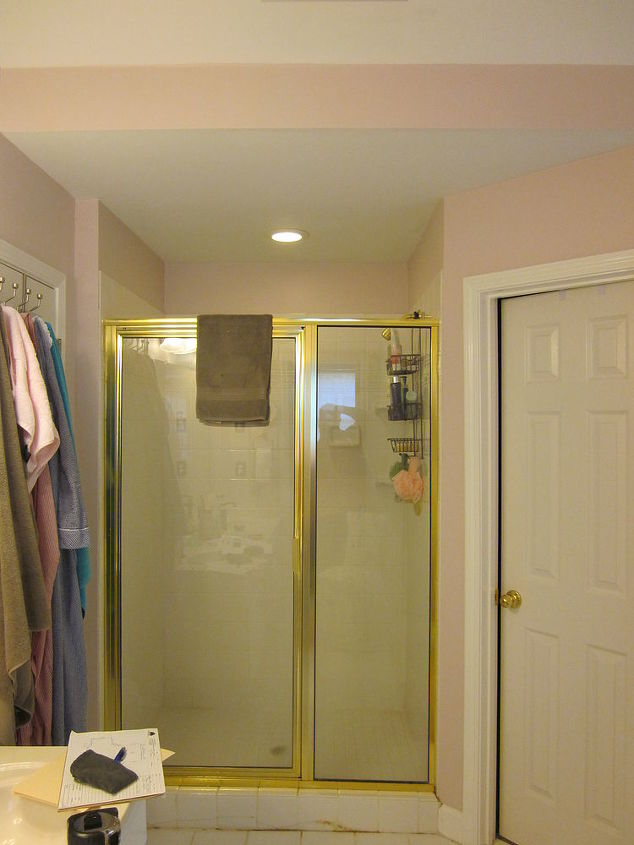 The shower before