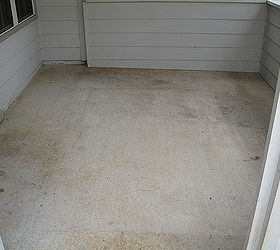 New Concrete Overlay Patio We Finished Today From Boring To Ultimate These  Pictures, Concrete Masonry