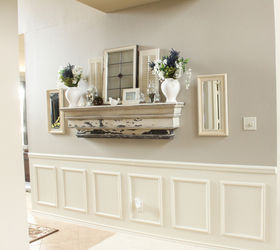 Superior Fake Wainscoting Tutorial, Home Decor, Paint Colors, Painting, Wall Decor,  This