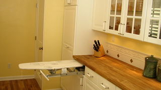 q can anyone tell me where i can purchase this ultimate build in ironing board, closet, We included this feature in one of our kitchen remodels next to the stacked washer dryer closet