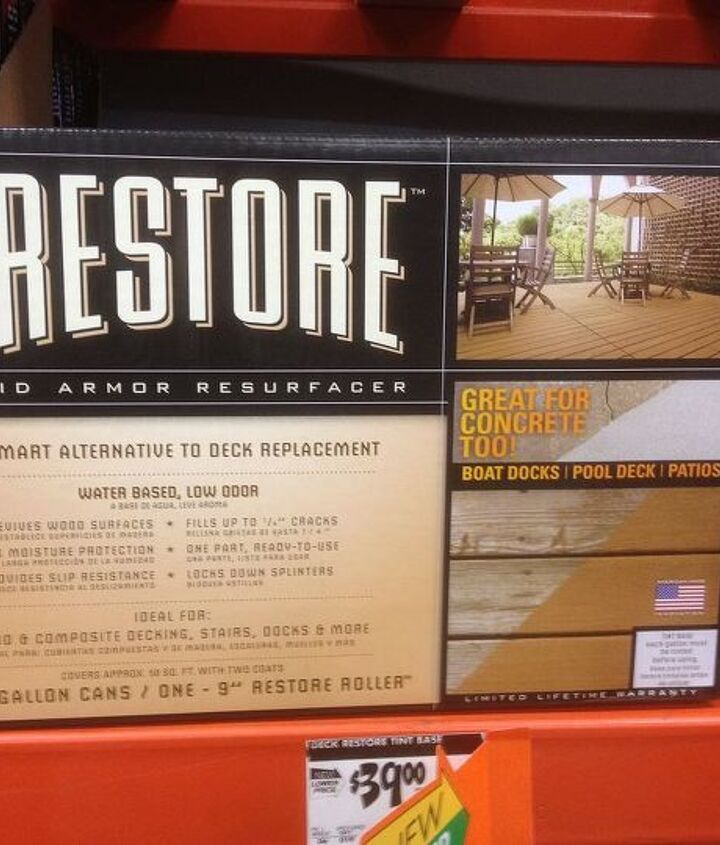 Restore from Home Depot