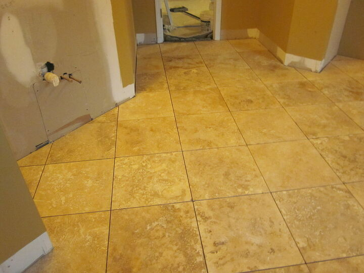 custom bath 1, bathroom ideas, home improvement, New flooring
