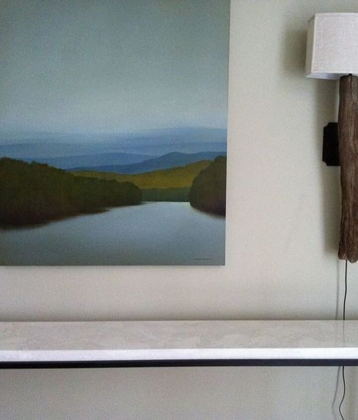 console table, concrete masonry, home decor, painted furniture