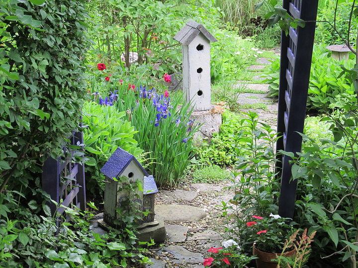 the path through the garden, gardening, outdoor living, path through the garden