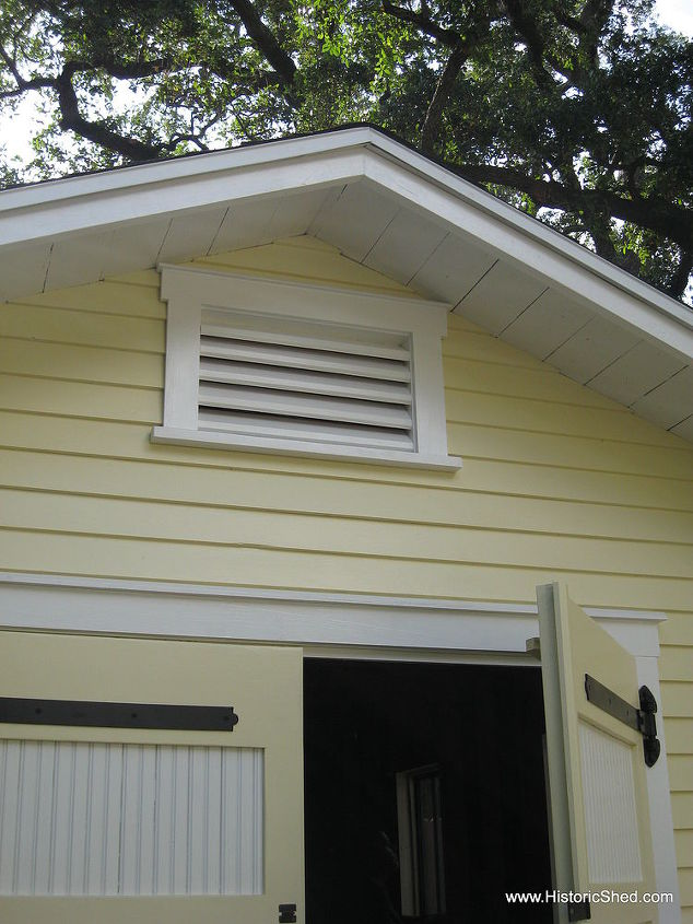 Custom gable vent