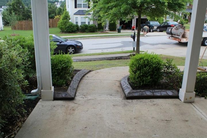 a few of our latest concrete landscape edging jobs enjoy, landscape, outdoor living