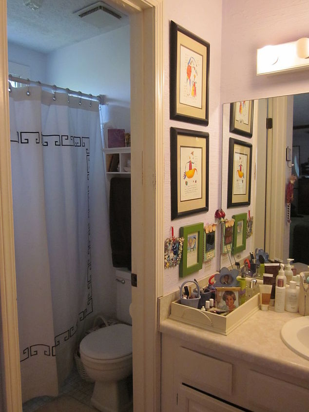 happiness is at least for today in marietta georgia new bathrooms, bathroom ideas, doors, home decor