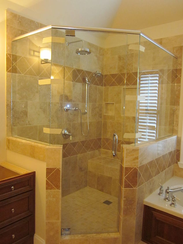 granite for the vanities is coming today, bathroom ideas, home decor, The Marietta Bath Remodel 3 27 12